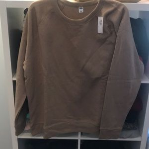 NWT! Light brown sweatshirt